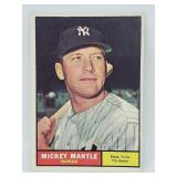 1961 Topps - #300 - Mickey Mantle