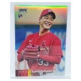 2020 Stadium Club Chrome Kwang-Hyun Kim RC #93