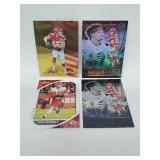 Four Patrick Mahomes II Cards