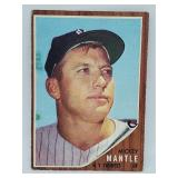 1962 Topps #200 - Mickey Mantle