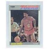 1987 Fleer Julius Erving #35 of 132