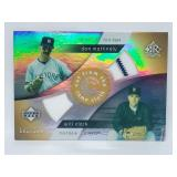 181/225 2005 UD Reflections Mattingly Clark Relic