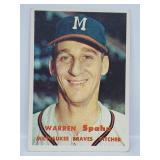 1957 Topps - #90 - Warren Spahn