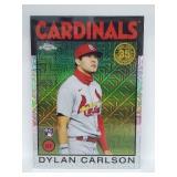 2021 Topps Chrome Dylan Carlson RC #86BC-23