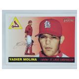 2004 Topps Heritage Yadier Molina RC #355