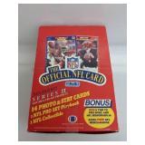 1989 NFL Pro Set Series 2 Football Wax Box