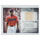 2020 Topps ML Material Francisco Lindor Relic