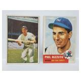 1953 Topps #114 & 1953 Bowman #9 Phil Rizzuto