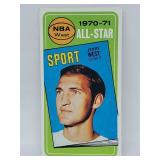 1970-71 Topps NBA West Jerry West #107