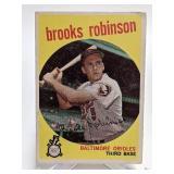 1959 Topps Brooks Robinson #439