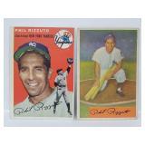 1954 Topps #17 & 1954 Bowman #1 - Phil Rizzuto