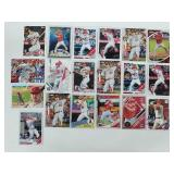 19 Mike Trout Baseball Cards
