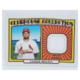 2021 Topps Heritage Yadier Molina Relic #CCR-YM