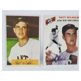 1954 Topps #36 & 1954 Bowman #57 Hoyt Wilhelm Lot