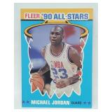1990 Fleer All Stars Michael Jordan #5 of 12