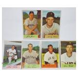 1954 Bowman 6 Card Lot Feller Piersall
