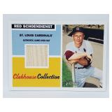2005 Topps Heritage Red Schoendienst Relic #CCR-RS