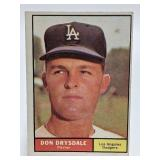 1961 Topps Don Drysdale #260