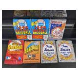 (7) Fleer/O-Pee-Chee/Pacific Baseball Card Packs