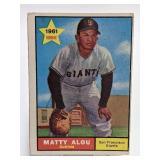 1961 Topps Matty Alou #327