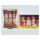 1958 Topps & 1960 Topps Frank Robinson Cards