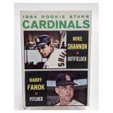 1964 Topps Rookie Stars Mike Shannon & Fanok #262
