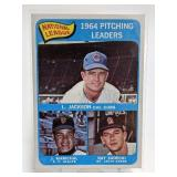 1964 Topps Pitching Leaders Jackson/Marichal