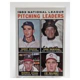 1963 NL Pitching Leaders Koufax/Marichal/Spahn
