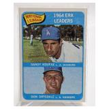 1964 ERA Leaders Sandy Koufax/Don Drysdale #8