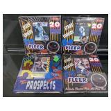 (4)1992 Fleer Stars/Rookies/Prospects Card Packs