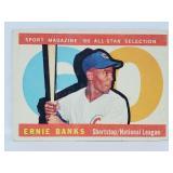 1960 Topps #560 - Ernie Banks All Star High Number