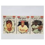1961 Topps 3 Card All Star - High Numbers