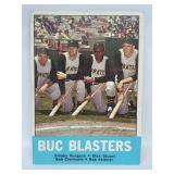 1963 Topps #18 Buc Blasters Roberto Clemente (MK)