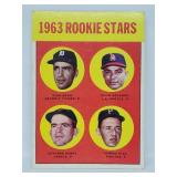 1963 Topps #169 - Gaylord Perry Rookie