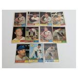 (11) 1961 Topps Baseball Cards Snider Robinson