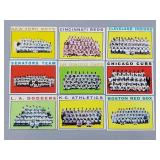 1964 Topps - 9 Card Team Lot - No Dups