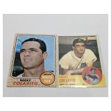 (2) Rocky Colavito Baseball Cards