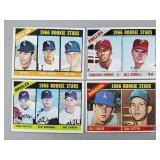1966 Topps 4 Card Rookie Lot Sutton, Jenkins
