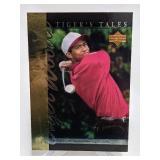 2001 Upper Deck Tiger Woods #TT10 Rookie Card