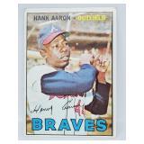 1967 Topps # 250 - Hank Aaron