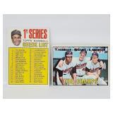 1967 Topps 2 Card Frank Robinson Lot #1 & #62