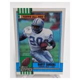 1990 Topps All Pro Barry Sanders #352 Rookie Card