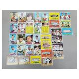 1967 Topps - 33 Card Lot of Premiums