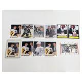 (11) Hockey Cards Gretzky Jagr