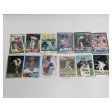 (12) Nolan Ryan Baseball Cards