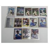 (13) Ken Griffey Jr. Baseball Cards With Rookies