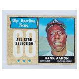 1968 Topps All Star #370 -Hank Aaron