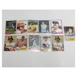 (11) Vintage Star Baseball Cards