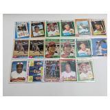 (17) Star Baseball Cards