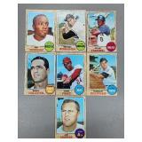 1968 Topps - 7 Card HOF/Star Lot